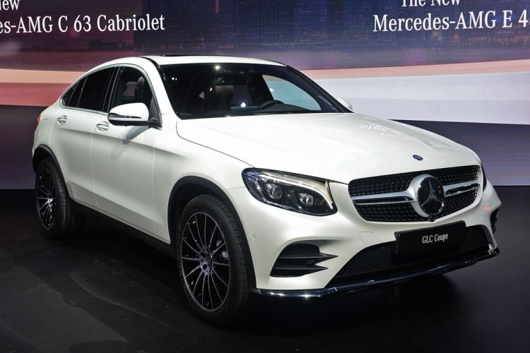 New York auto shows 2016 cars Mercedes Benz GLC Coupe suv wallpaper