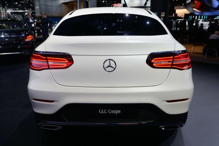 New York auto shows 2016 cars Mercedes Benz GLC Coupe suv wallpaper