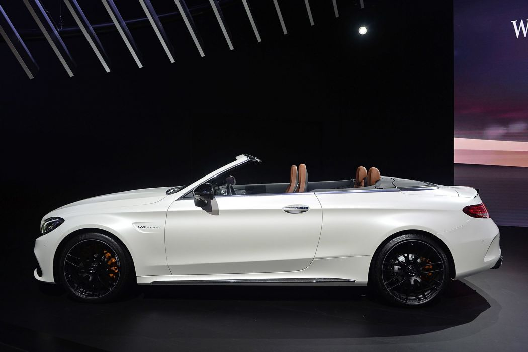 New York auto shows 2016 cars Mercedes AMG C63 Cabriolet wallpaper