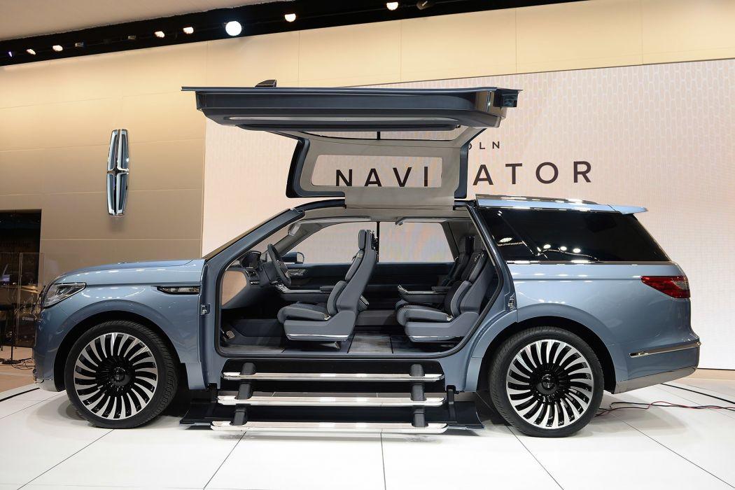 New York auto shows 2016 cars Lincoln Navigator Concept wallpaper