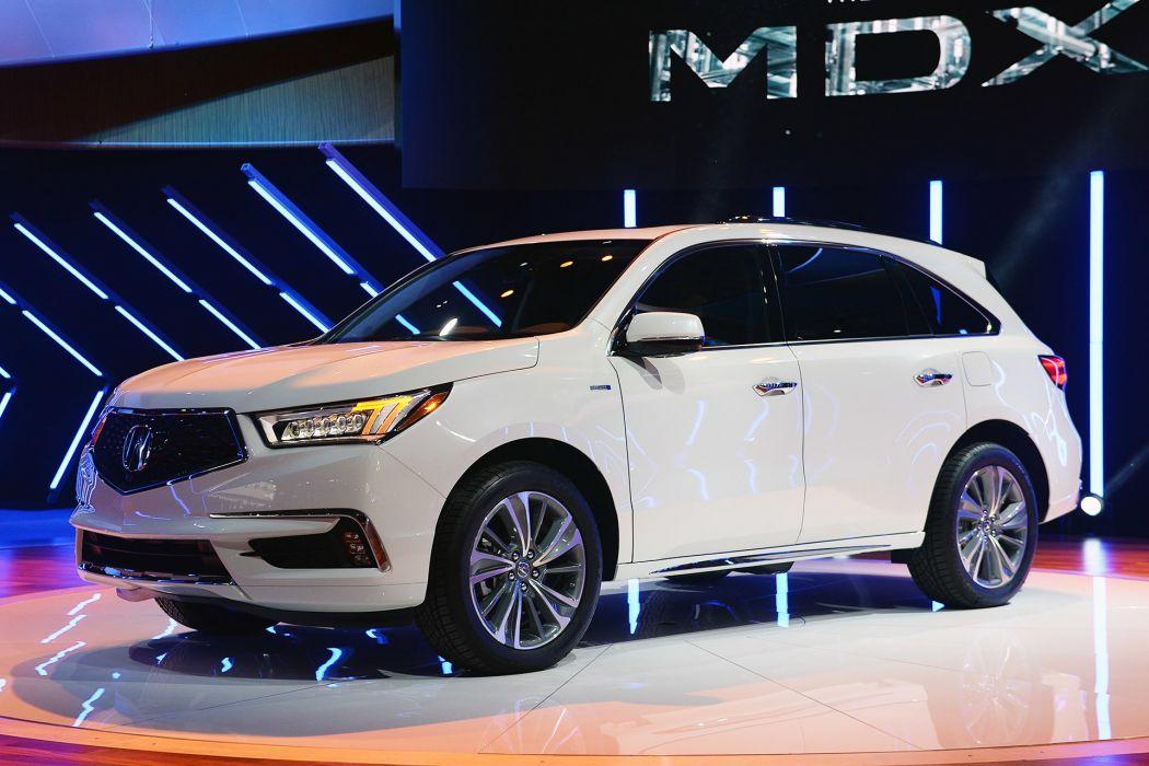 New York auto shows 2016 cars Acura MDX SUV wallpaper