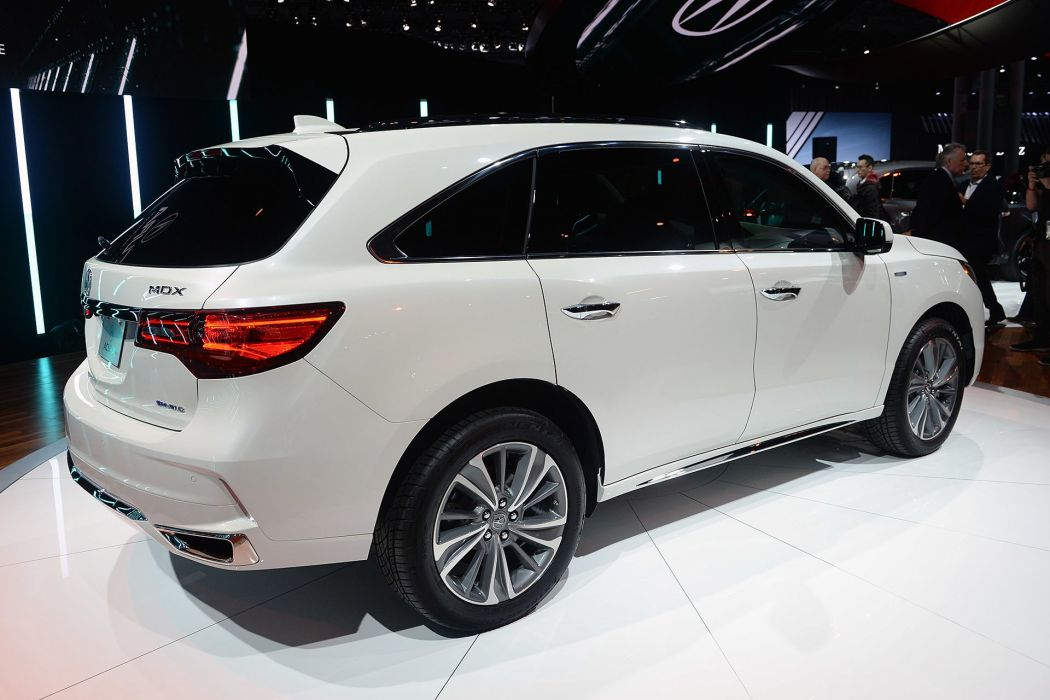 New York auto shows 2016 cars Acura MDX SUV wallpaper