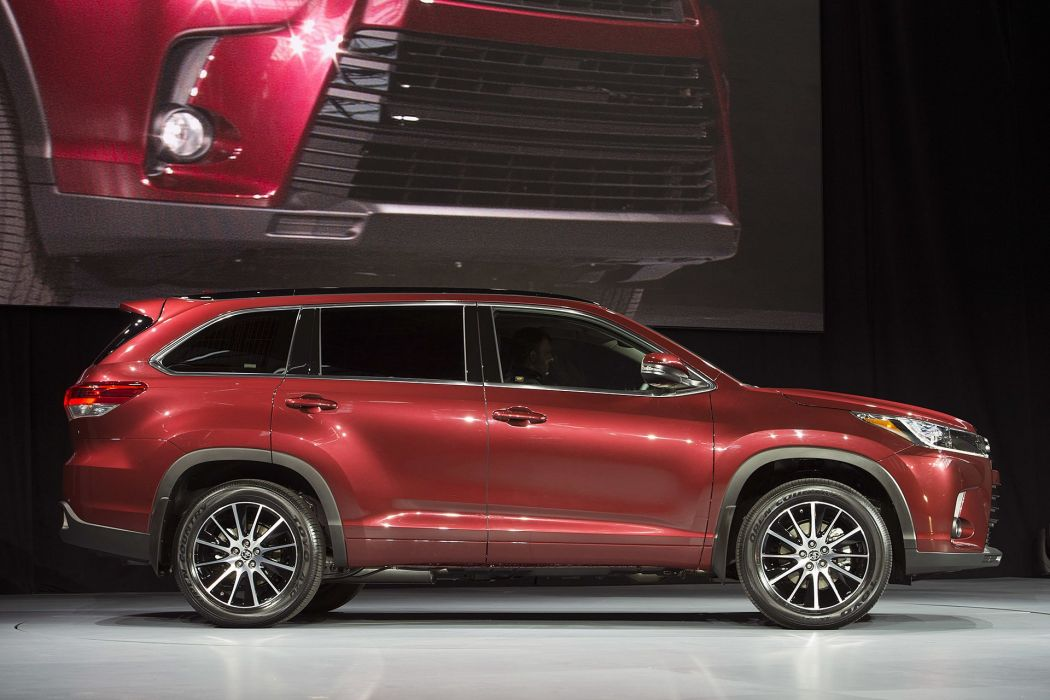 New York auto shows 2016 cars Toyota Highlander suv wallpaper