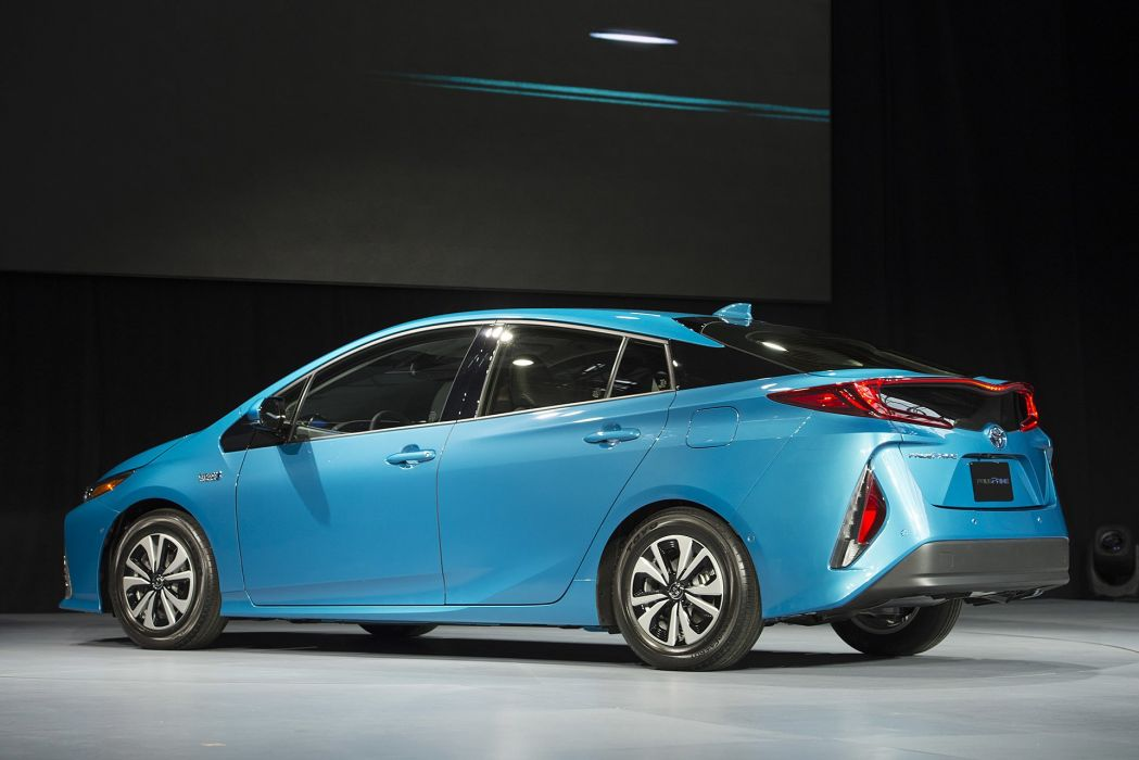 New York auto shows 2016 cars Toyota Prius Prime hybrid plug-in wallpaper