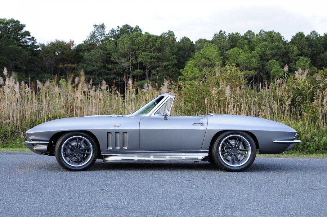 1965 Chevrolet Corvette (c2) Convertible cars modified wallpaper