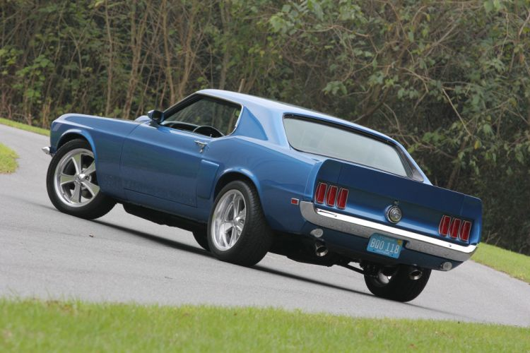 1969 Ford Mustang coupe cars classic wallpaper