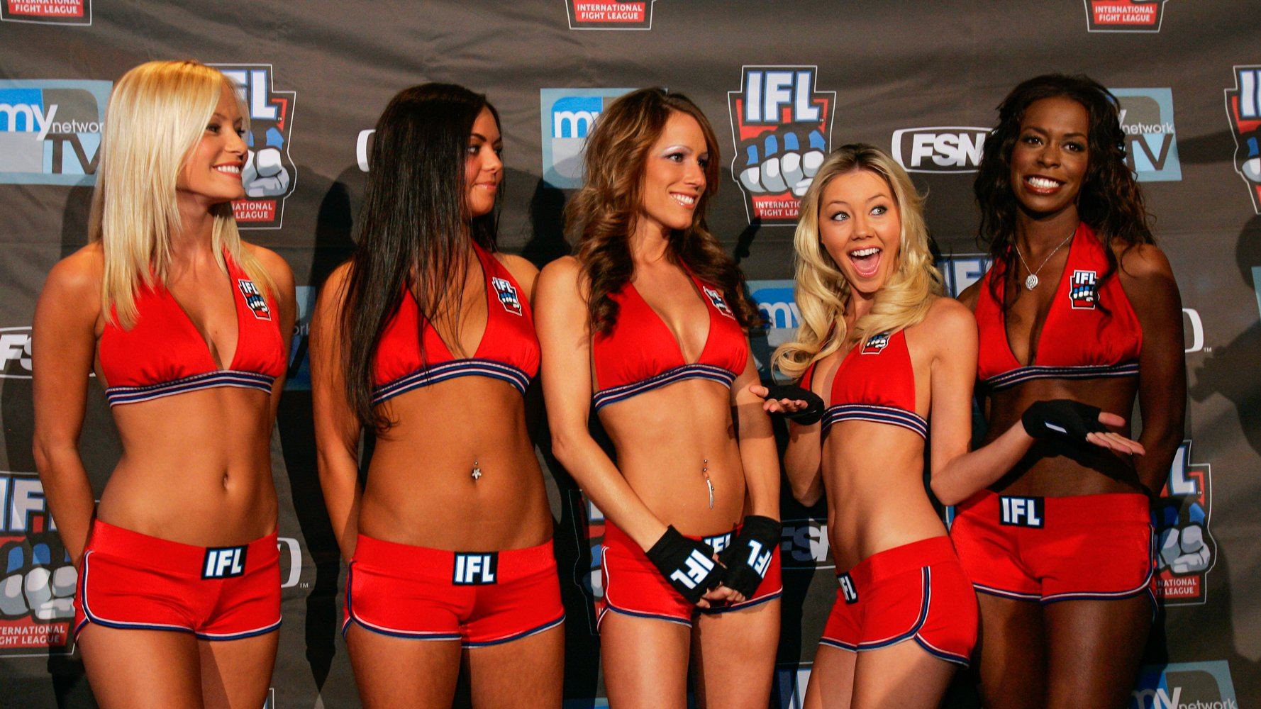 Join. Sexy ring girls tuesday night fights wallpaper