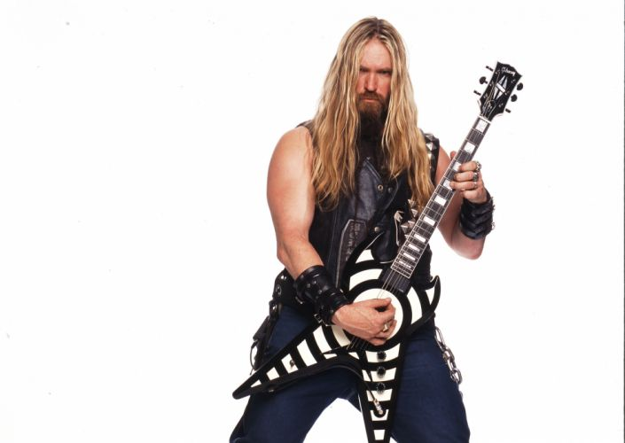 ZAKK WYLDE Black Label Society Zakk Wylde Ozzy guitar heavy metal wallpaper