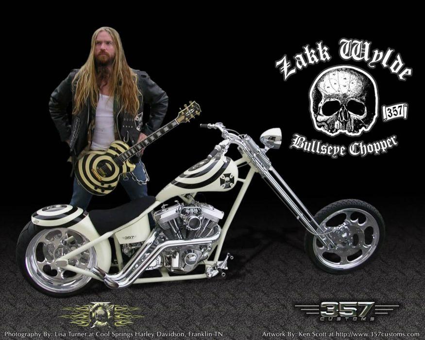 ZAKK WYLDE Black Label Society Zakk Wylde Ozzy guitar heavy metal chopper wallpaper