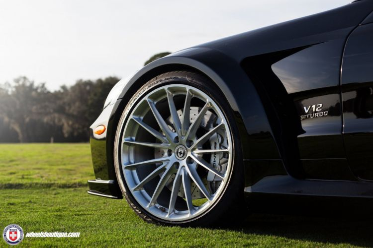 SL65 mercedes Black Series HRE wheels cars black wallpaper