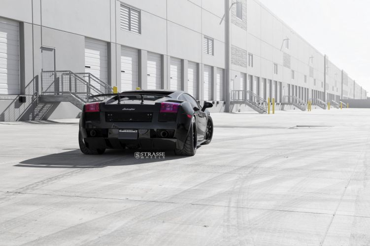 Twin Turbo Lamborghini Superleggera strasse wheels cars black wallpaper