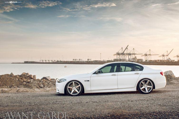 bmw m550 sedan avant garde wheels cars wallpaper