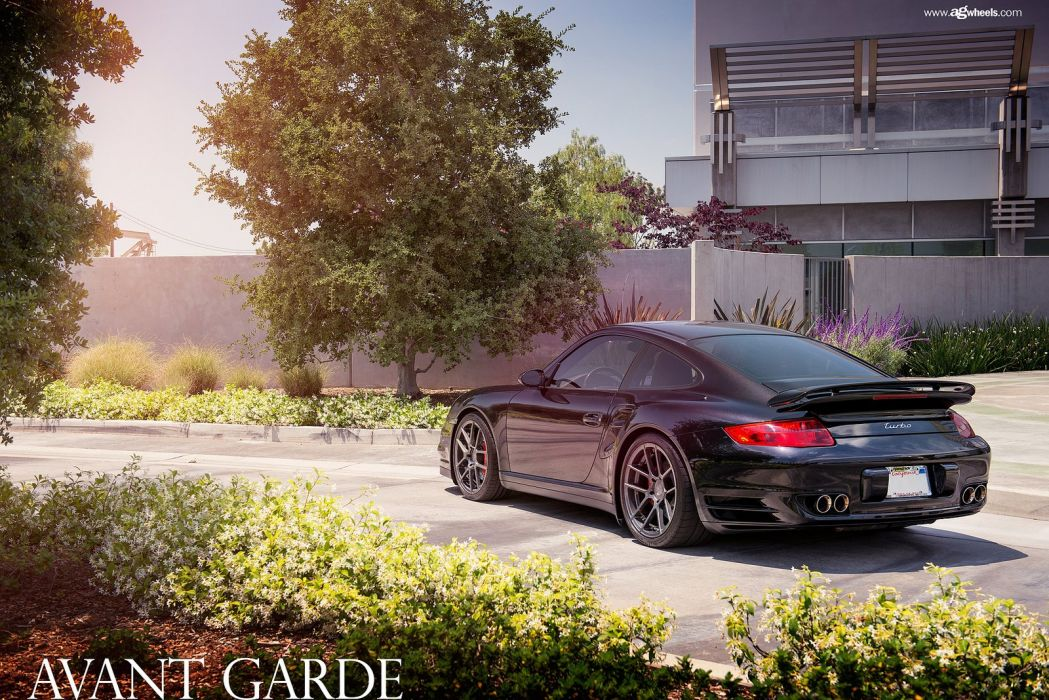 porsche 997 turbo avant garde wheels cars wallpaper