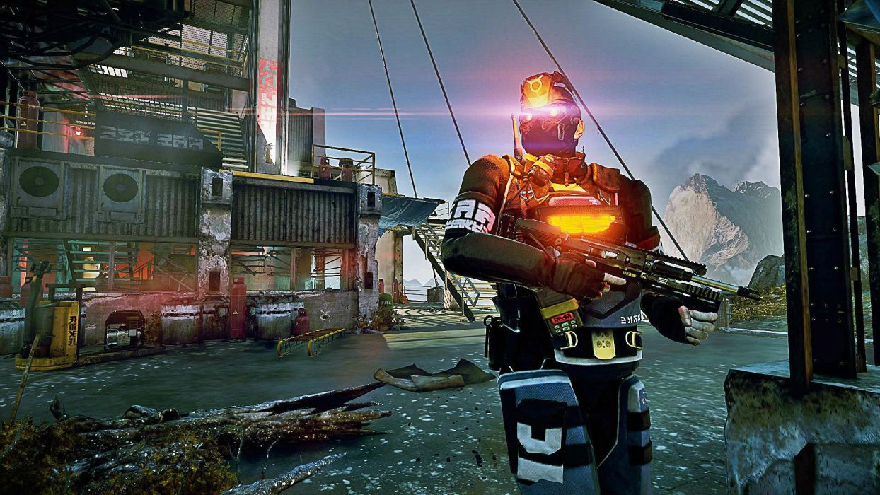 KILLZONE stealth tactical warrior sci-fi futuristic shooter action fighting wallpaper