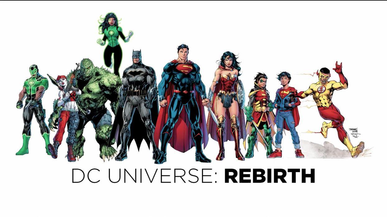 DC Comics Rebirth wallpaper