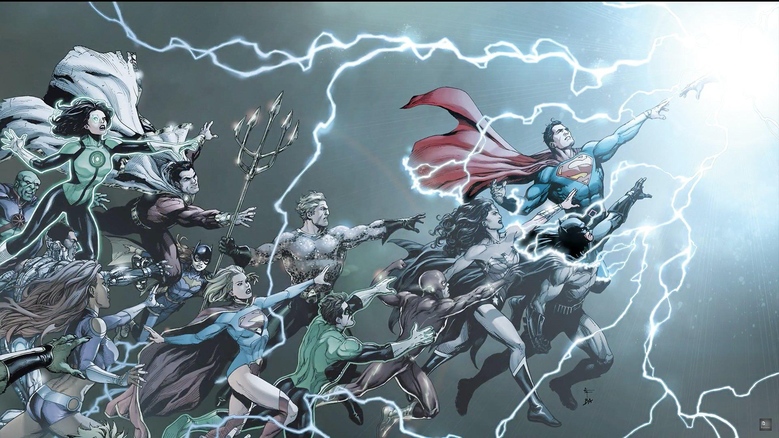 DC Comics Rebirth Special Cover wallpaper   2560x1440 ...