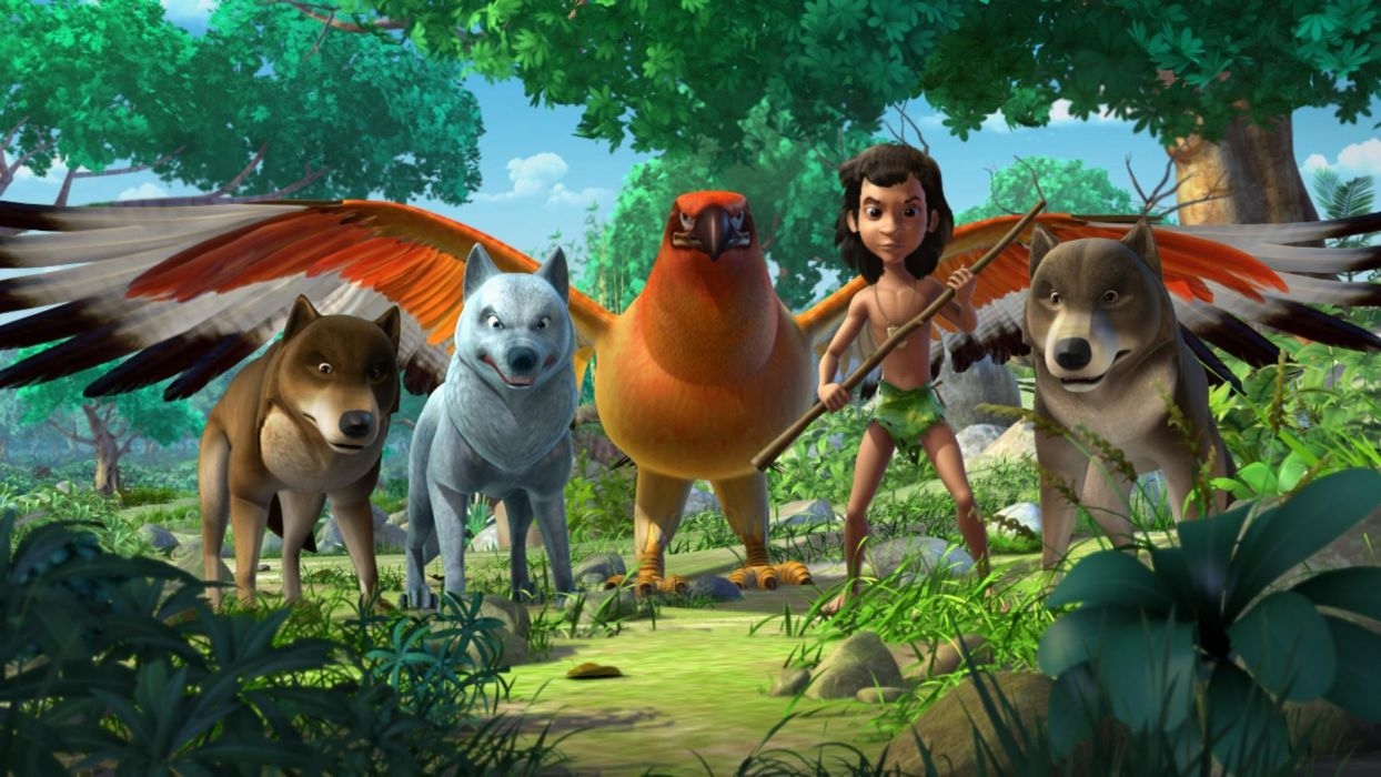 JUNGLE BOOK disney fantasy family cartoon comedy adventure drama 1jbook wallpaper