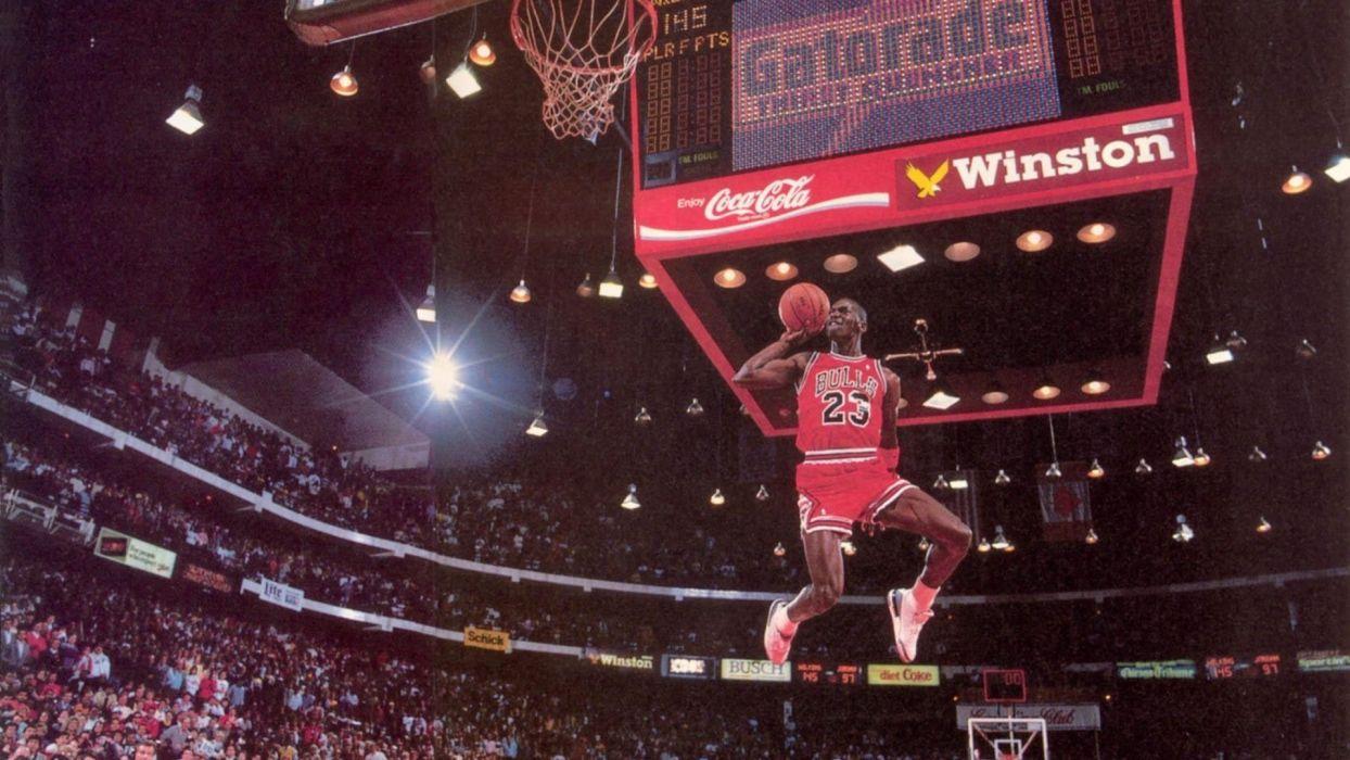 michael jordan chicago bulls baloncesto mate canasta wallpaper