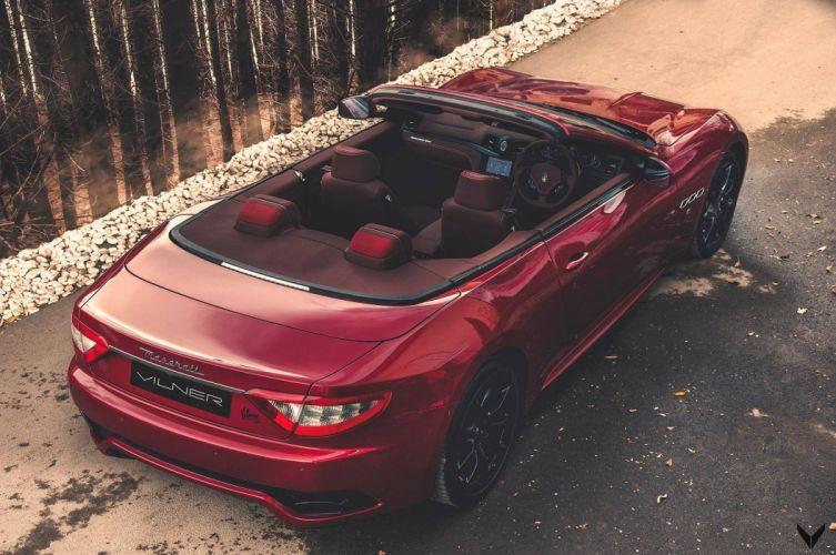 Maserati GranCabrio Sport Vilner cars convertible wallpaper