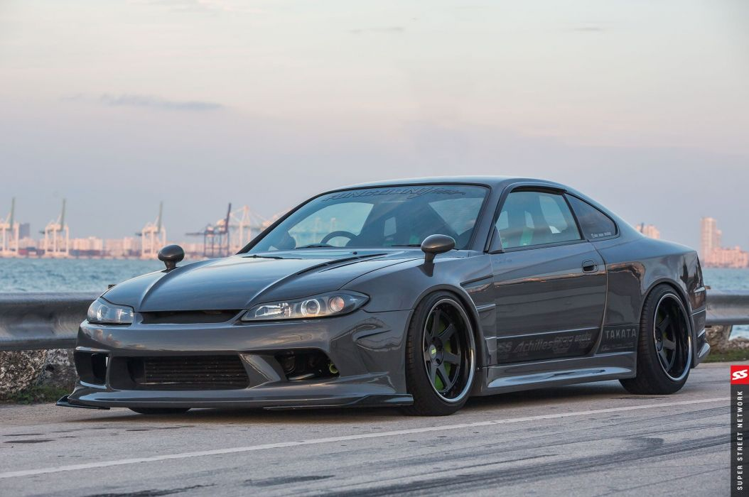 2002 Nissan Silvia S15 cars modified wallpaper