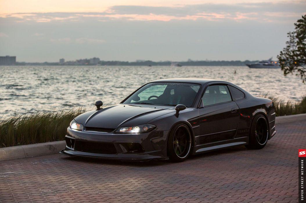2002 Nissan Silvia S15 cars modified wallpaper
