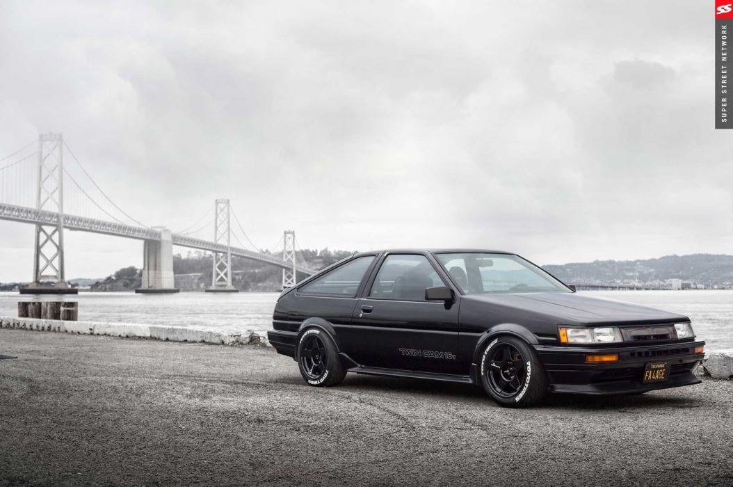 1986 toyota corolla gts cars modified wallpaper