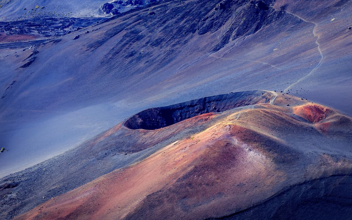 Haleakala Maui volcano mountains hawaii wallpaper