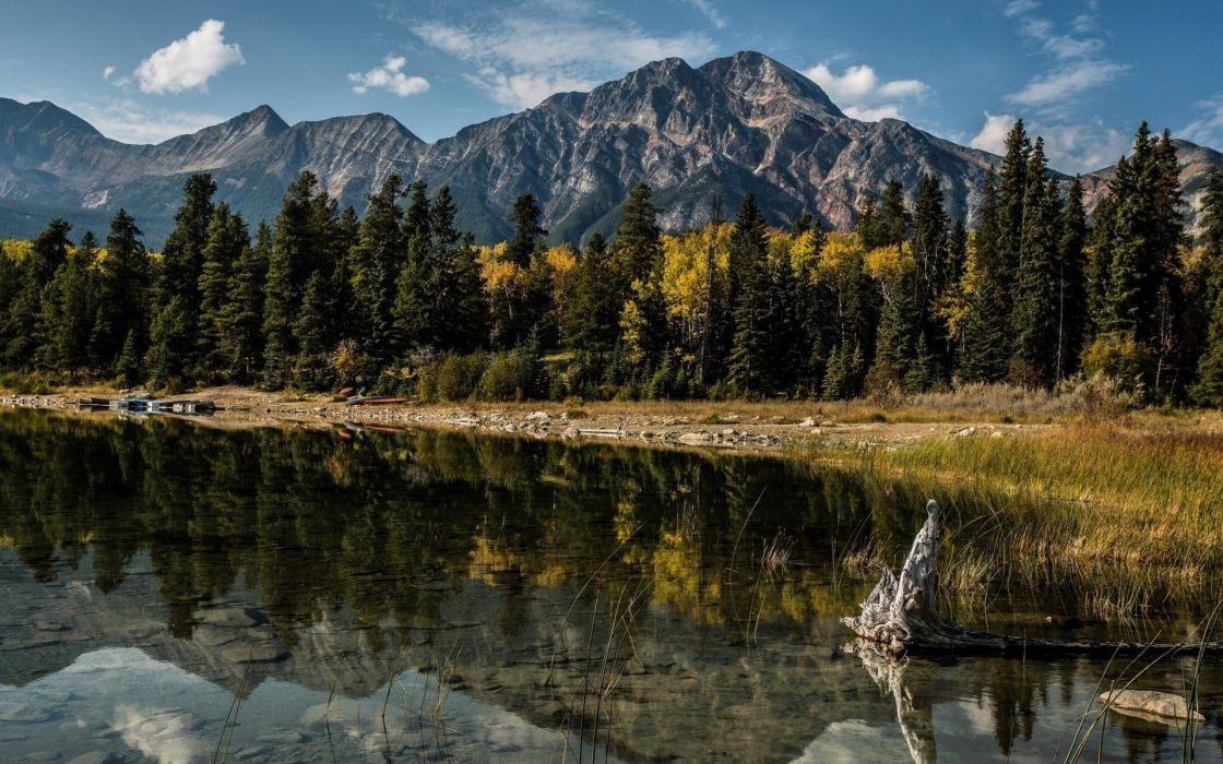 canada alberta landscape nature Canada Alberta wallpaper