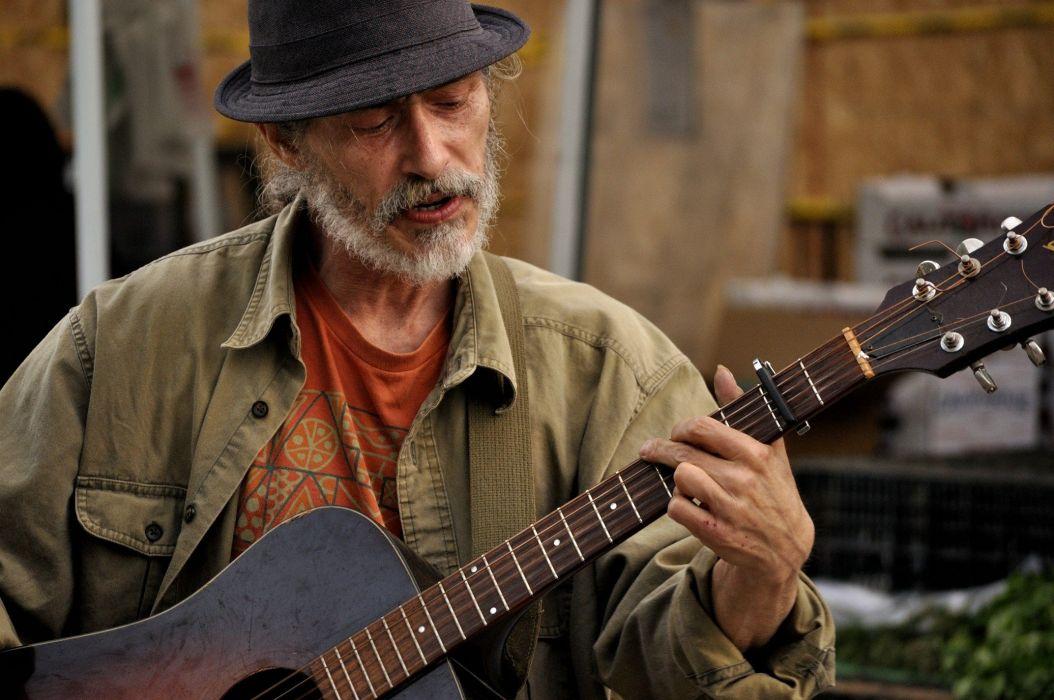 hombre guitarra musica wallpaper