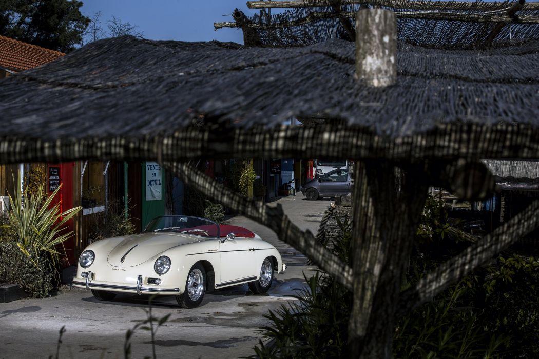 Porsche 356A 1600 Speedster (T2) cars classic 1958 1959 wallpaper