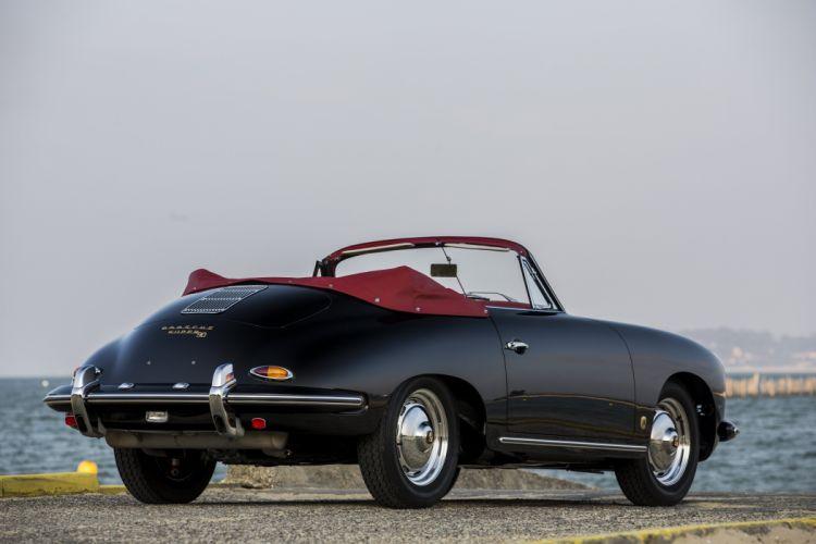 Porsche 356B 1600 Super 90 Cabriolet Reutter (T5) cars classic 1960 wallpaper