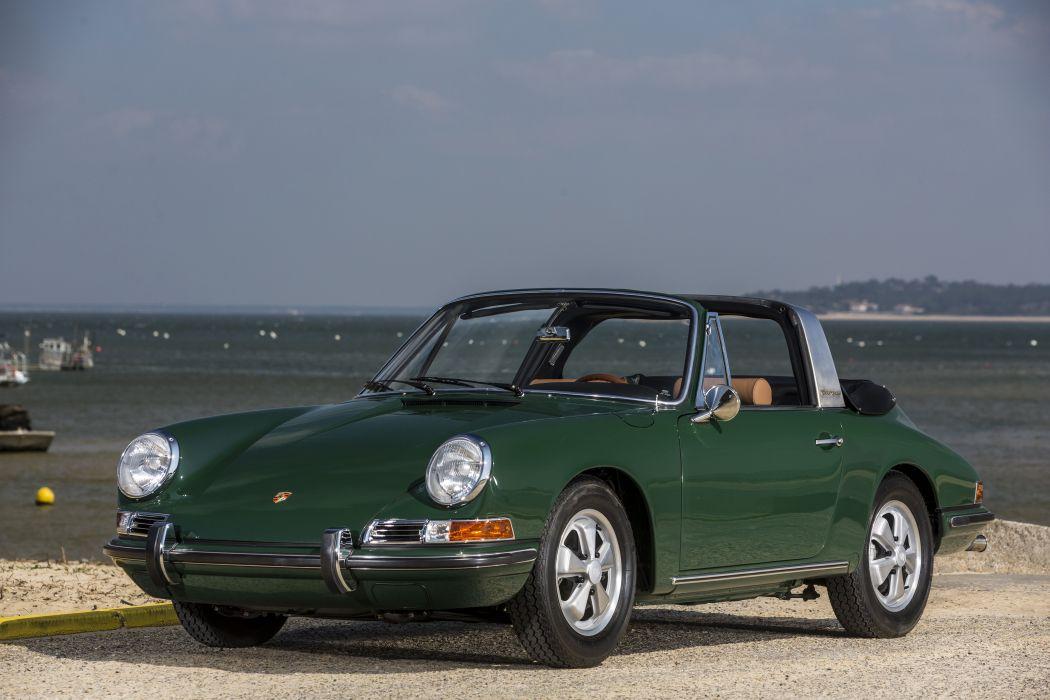 Porsche 911 2 litres targa (901) cars classic 1966 1968 wallpaper