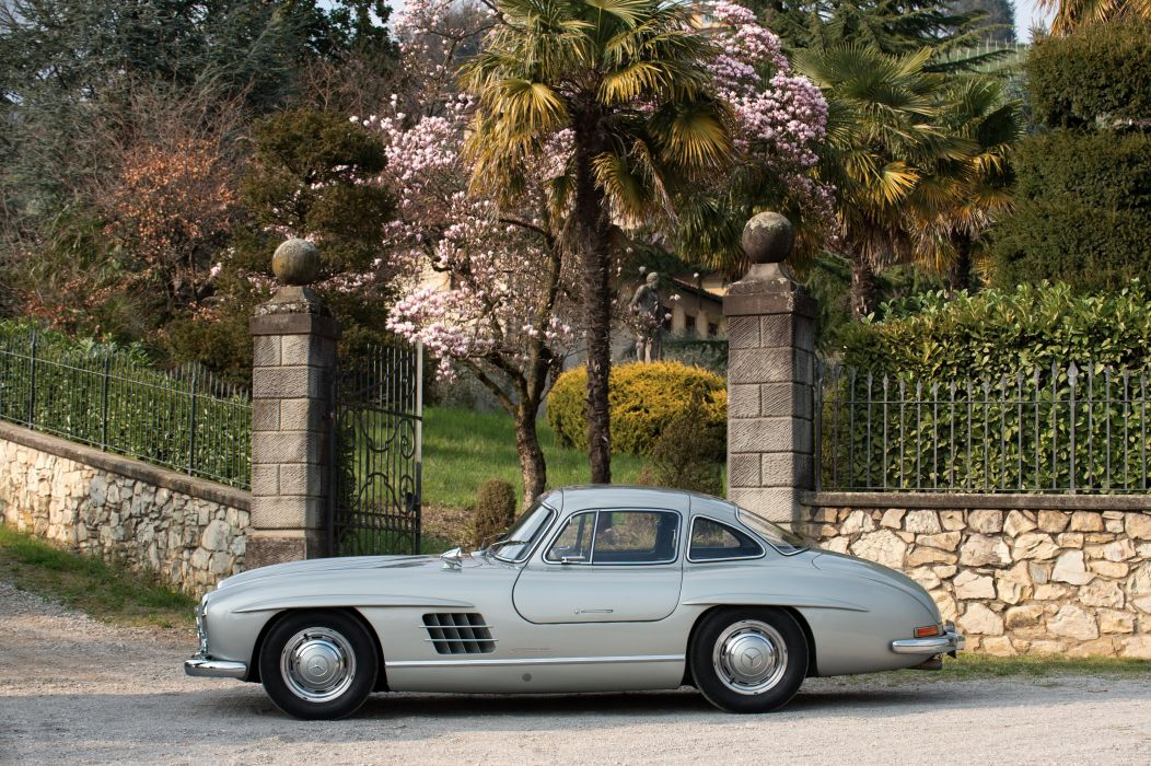 Mercedes Benz 300 SL (W198) cars classic 1955 wallpaper