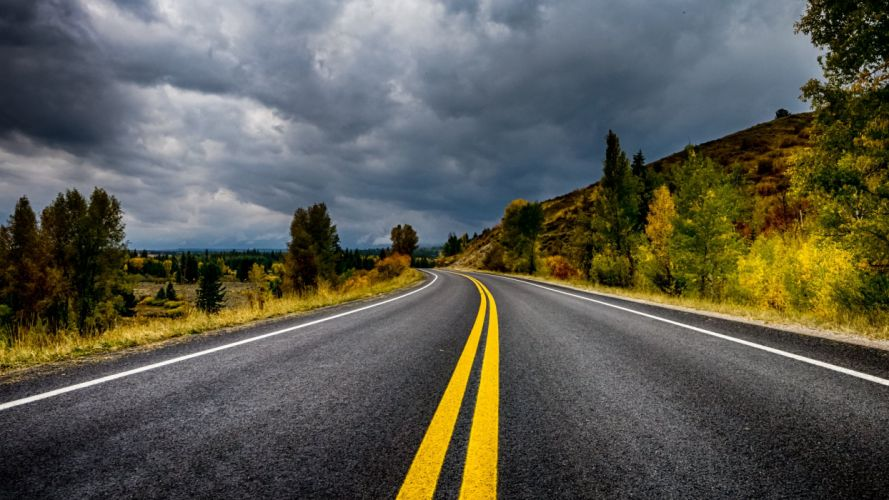 Roads Nature wallpaper