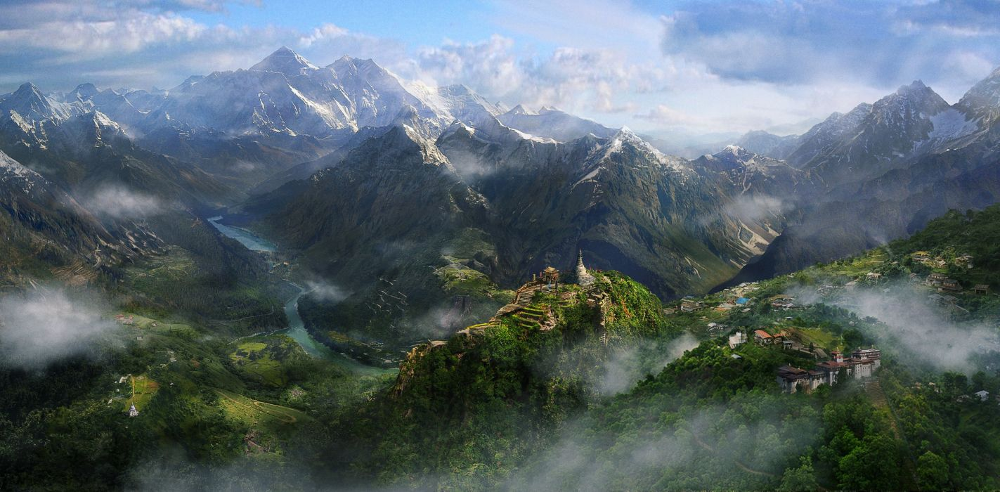 Far Cry 4 Mountains 476630 wallpaper
