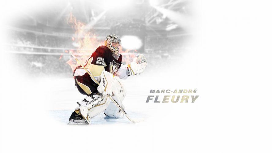 #29 Fleury Pittsburgh Penguins wallpaper