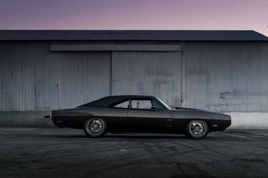 1970 Dodge Charger cars black modified wallpaper