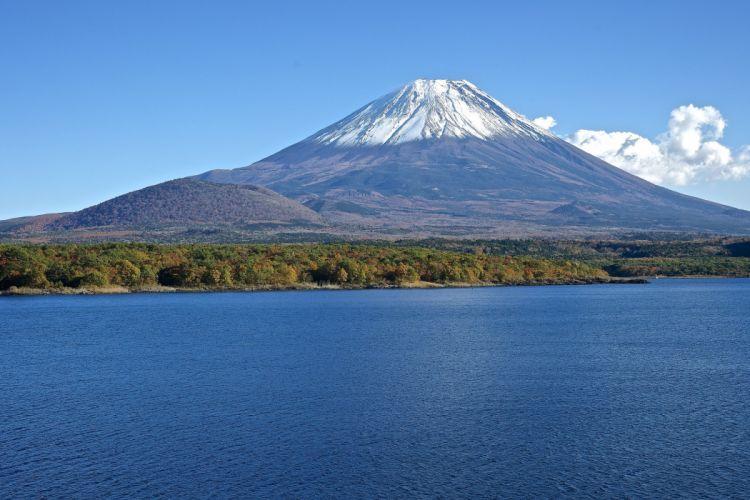Mountains Japan Volcano Fuji Nature wallpaper