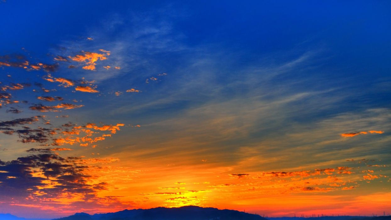 Sky Sunrises and sunsets Nature wallpaper