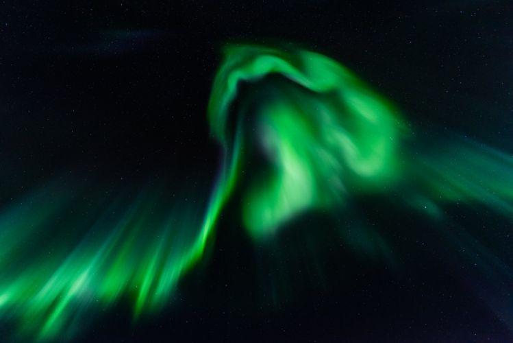 Aurora Night Nature wallpaper