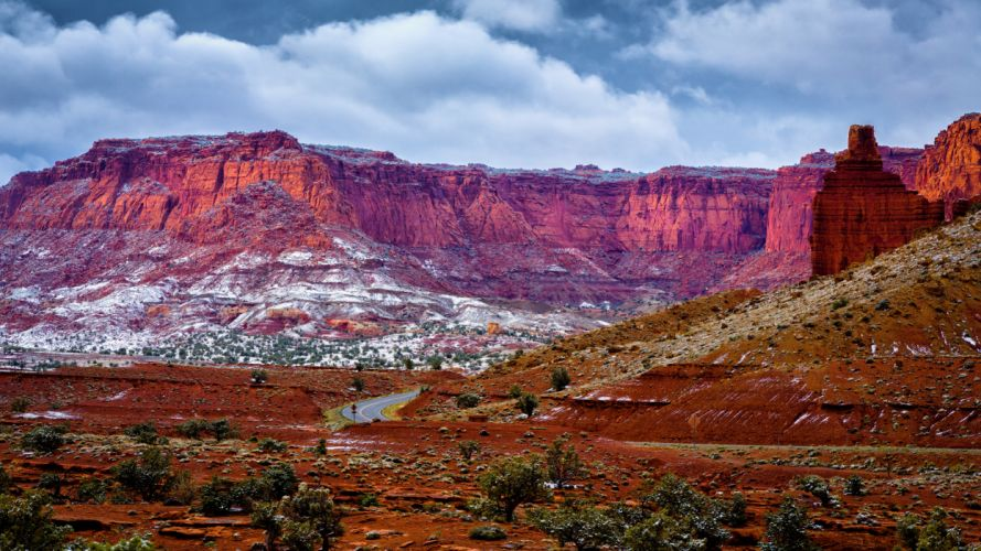 USA Canyon Grand Canyon Nature wallpaper