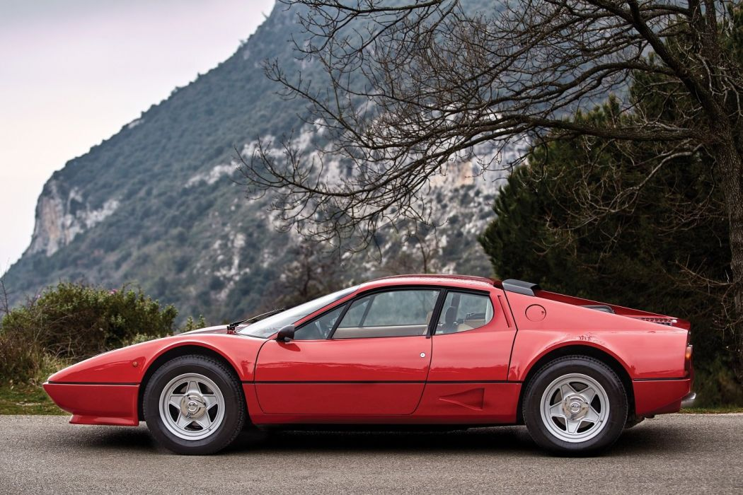 Ferrari 512 BB cars coupe red 1976 1981 wallpaper