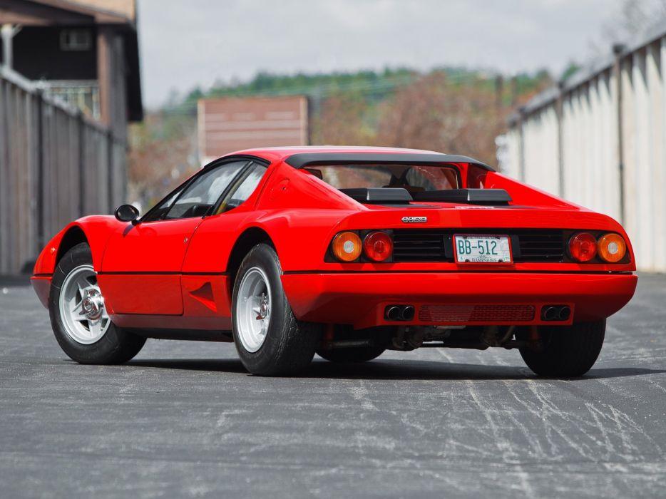 Ferrari 512 BB cars coupe red 1976 1981 wallpaper