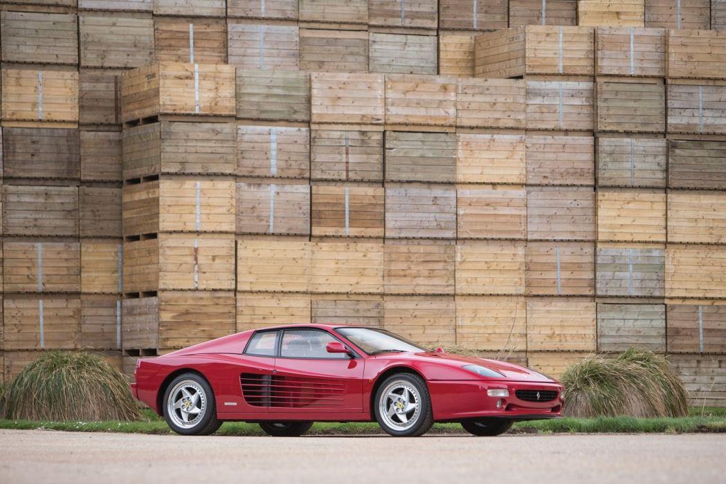 Ferrari F512 M 1994 cars red wallpaper