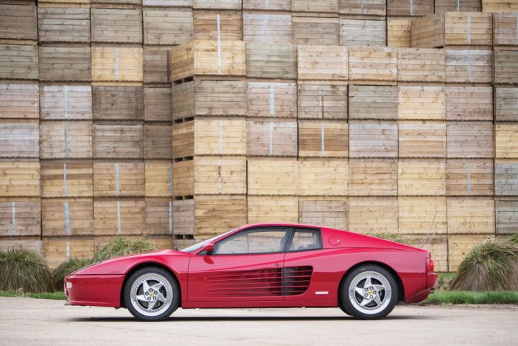 Ferrari F512 M 1994 cars red wallpaper