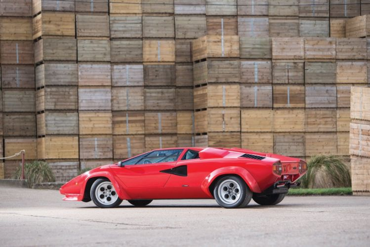 Lamborghini Countach LP400 S cars red 1978 wallpaper