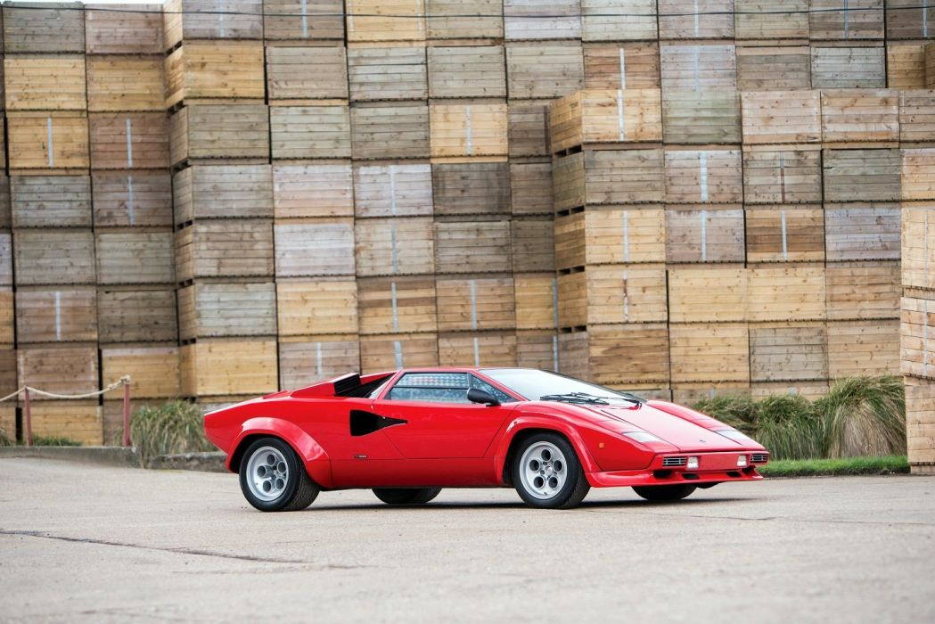 Lamborghini Countach LP400 S cars red 1978 wallpaper