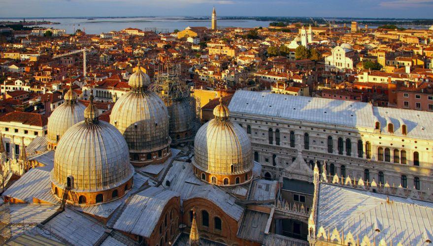 Houses Italy Venice St Mark's Basilica Cities wallpaper