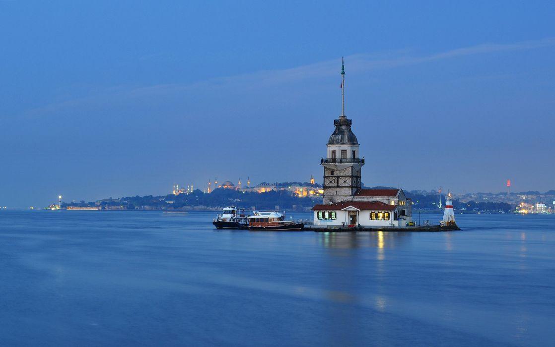 Turkey Sea Istanbul Cities wallpaper