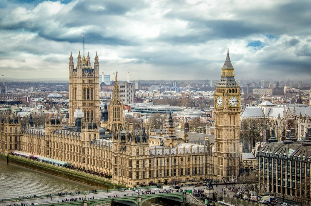 Houses England London Big Ben Cities wallpaper
